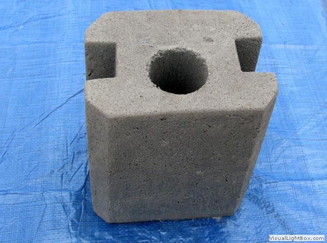 Łączniki betonowe do ogrodzenia